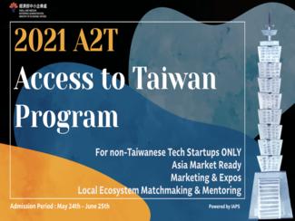 IAPS-2021 A2T-Access to Taiwan Program # Batch 2