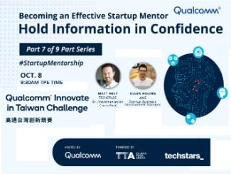 Qualcomm & Techstars Startup Series Mentor Workshop #7