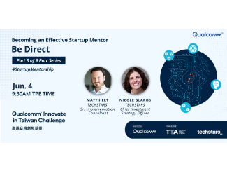 Qualcomm and Techstars Startup Series Mentor Workshop #3 Becoming an Effective Startup Mentor - Be Direct