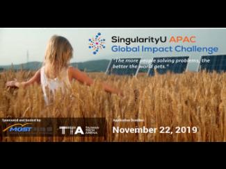 2019 SingularityU APAC Global Impact Challenge